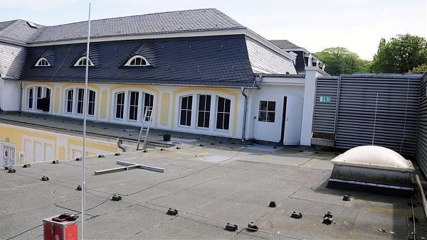 Kuranlage, Bad Nenndorf - Dachüberprüfung, Planung und Baubegleitung