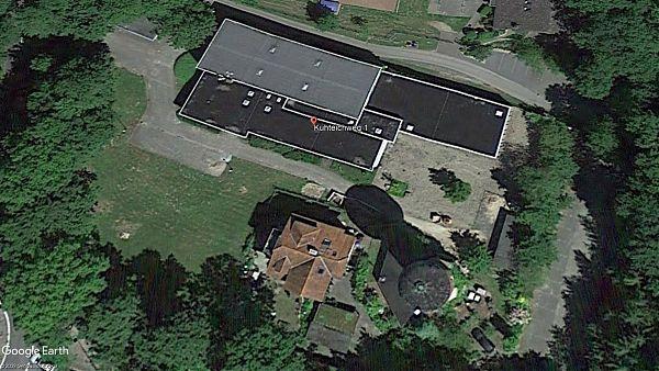 Stadtwerke Uelzen Wasserwerk - Planung, Baubegleitung der Dachsanierung und Erneuerung der Fassaden - Google Earth © 2009 GeoBasis-DE/BKG