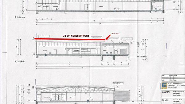 EDEKA-Markt (Goldbeck Bielefeld), Chemnitz - Machbarkeitsstudie der neu geplanten Dachkonstruktion von ROOF CONSULTING