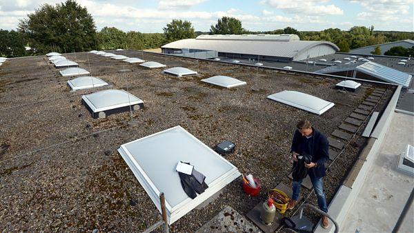 Sporthalle der Gemeinde Oststeinbek - Planung und Baubegleitung der Dachsanierung