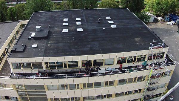 Hamburg (Kleine Bahnstraße) - Dachsanierung und Baubegleitung (nachher)