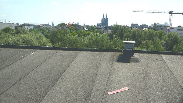 Mediapark, Köln - Planung, Begleitung und Abnahme der Dachsanierung