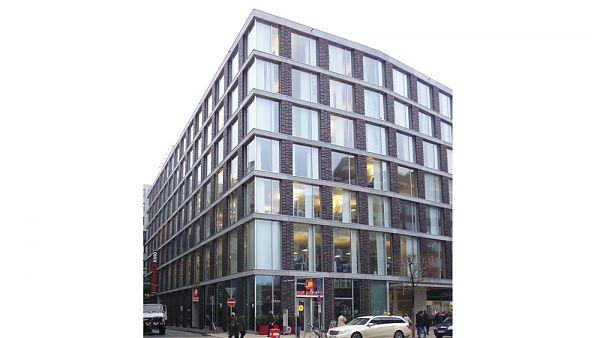 Metropolis Haus (XING-Zentrale), Hamburg (Dammtorstraße) - Planung der Dachsanierung