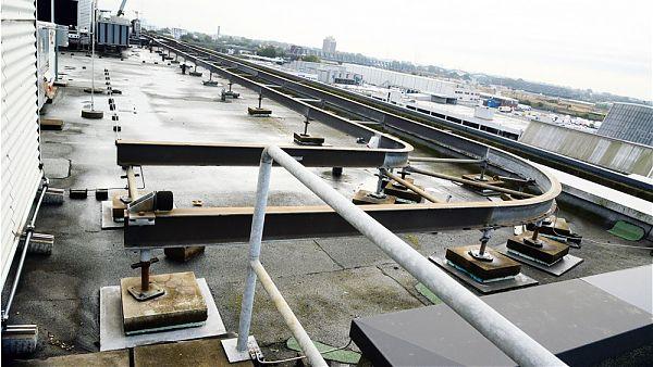 VTG-Gebäude, Hamburg (Amsinckstr.) - Planung der Dachsanierung und Geräteaufständerung