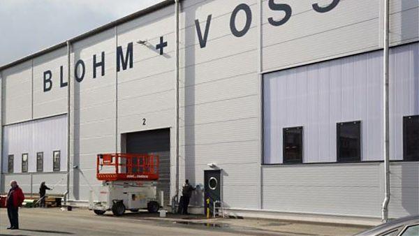 Neubau Industriehalle Hamburg-Hafen