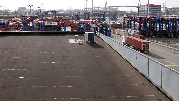 Container Terminal Burchardkai (HHLA),Hamburg